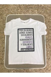 Camiseta Rosa Luxemburgo